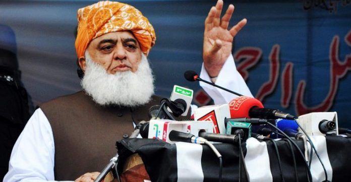 Fazl says no talks with government until PM resigns