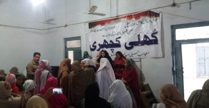 In a first, Kuli Kacheri held for women in Nowshera