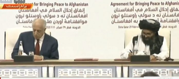 Afghanistan peace deal