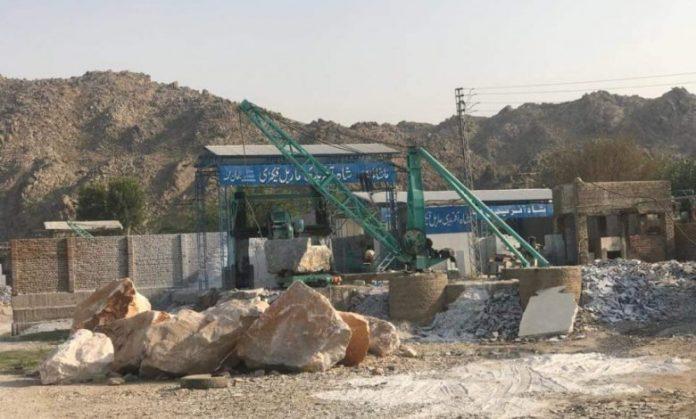 Marble factory in Jamrud