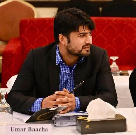 """The second prize went to Pakistani journalist, Umar Bacha, for his article """"Braving hostile terrains and attitudes, the women at the heart of KP's Covid-19 battle""""."""